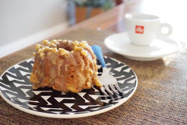Southern Apple Cake With Walnut Glaze Recipe