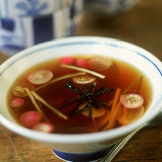 Vegetable Miso Broth.