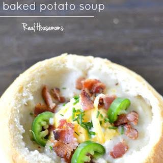Bacon Jalapeno Baked Potato Soup.
