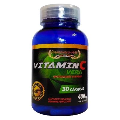 Vitamina C Vera 30 Capsulas g.v.r. Primavera Maf