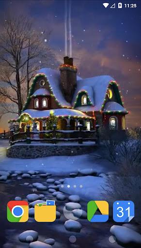 白色圣诞3D