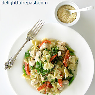 Farfalle with Chicken and Spring Vegetables