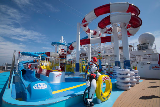 CCL_Horizon_waterworks.jpg - Enjoy the twists and turns of the Dr. Seuss WaterWorks on Carnival Horizon.