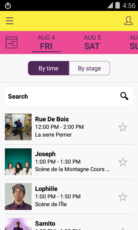 Osheaga 2017- screenshot