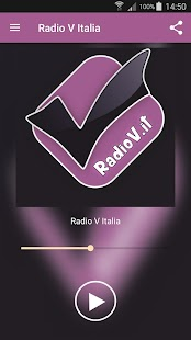 Radio V Italia App- screenshot thumbnail