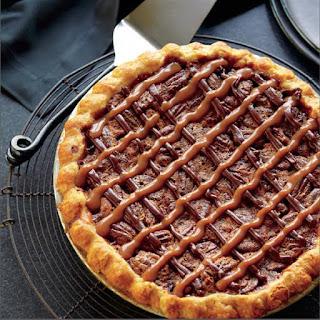 Michele Stuart's Turtle Pecan Pie.