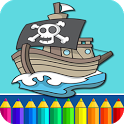 Pirates Coloring Pages icon