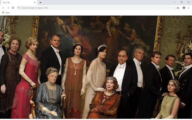 Downton Abbey New Tab & Wallpapers Collection