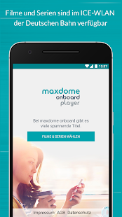 maxdome onboard Player- screenshot thumbnail
