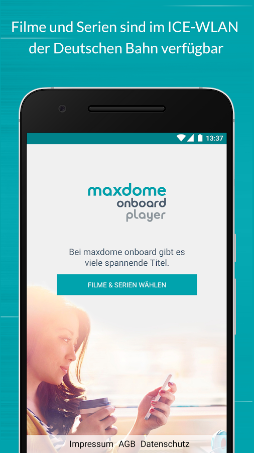 maxdome onboard Player- screenshot