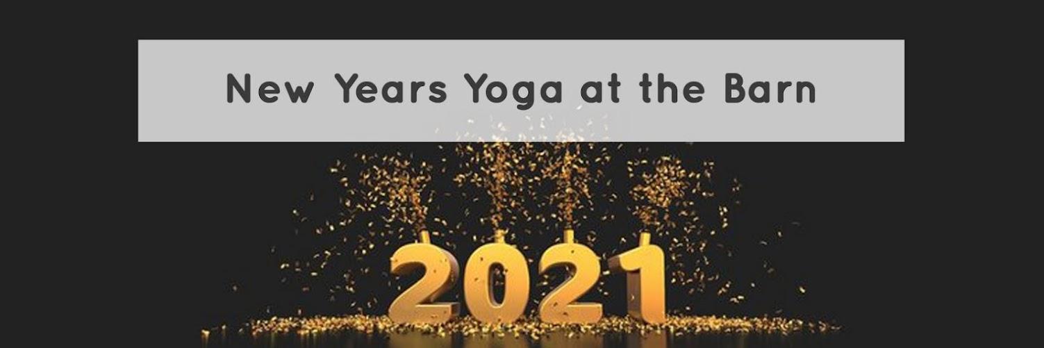 New Years Yoga at the Barn