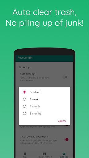 Recover Bin Free: Trash for Android, Recover Files screenshot 4