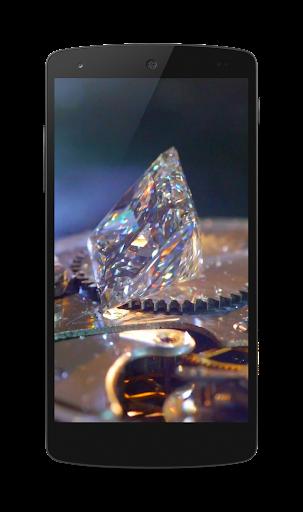 ダイヤモンド3DビデオLWP