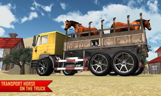 운송 트럭 농장 라이드