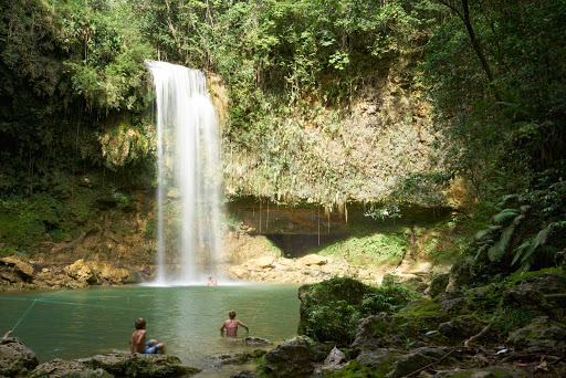 DR-Waterfall-5.jpg - Cap a beautiful hike with a cool swim while on a cruise to the Dominican Republic.