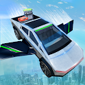 Flying Cyber Truck Transport Simulator 2020 icon