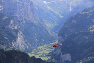 Photo: Many rich tourists hosted in Interlaken take such shortcuts