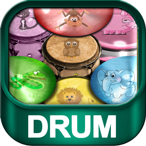 Animal Bongo Drums for Kids 音樂 App LOGO-硬是要APP