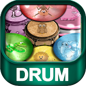Animal Bongo Drums for Kids