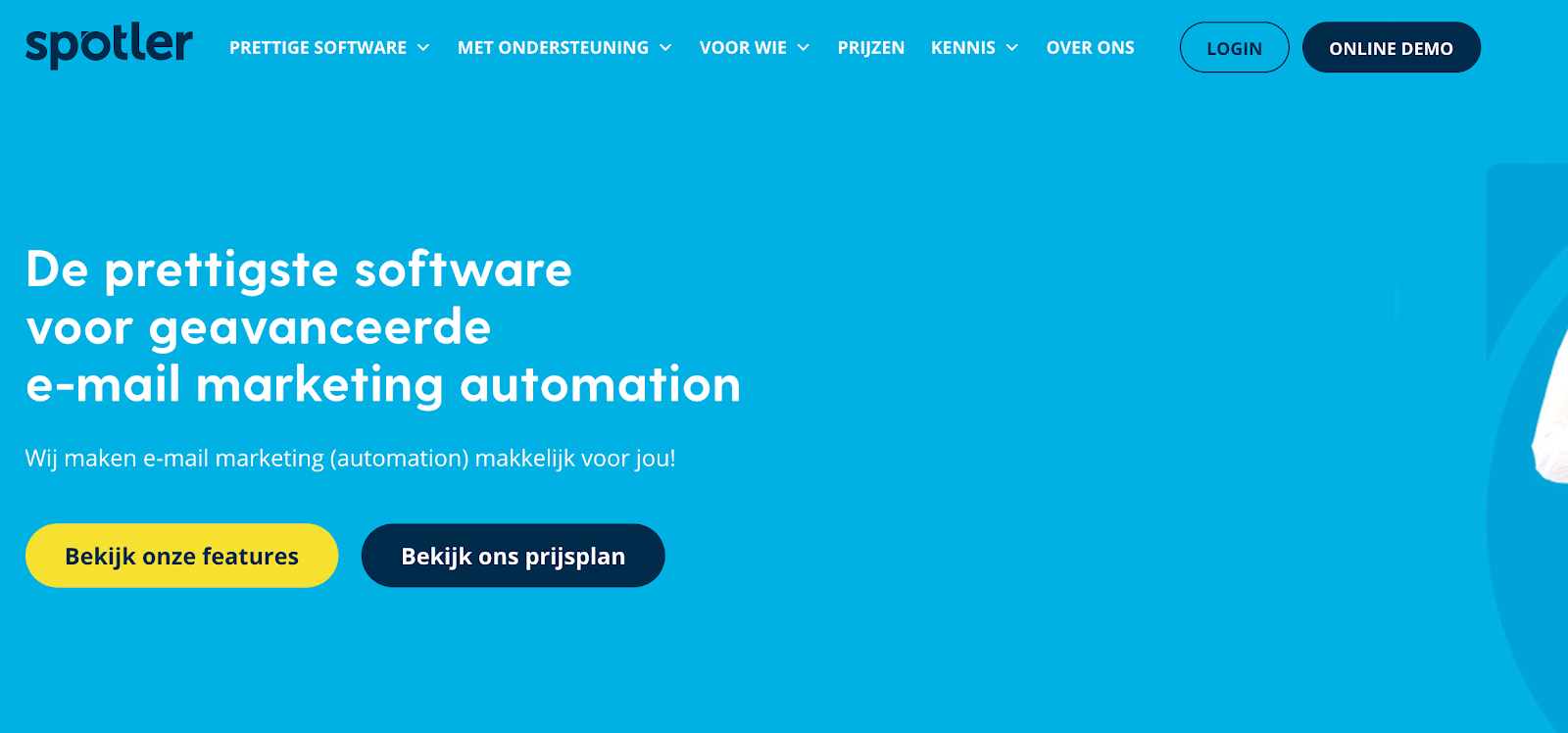 e-mail marketing software voor webshops