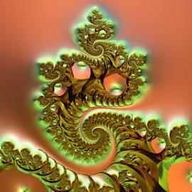 by Cassy 67 - Illustration Abstract & Patterns ( swirl, digital art, spiral, fractal, digital, fractals )