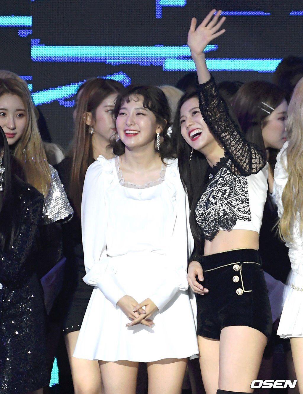 Red Velvet's Seulgi and BLACKPINK's Jisoo