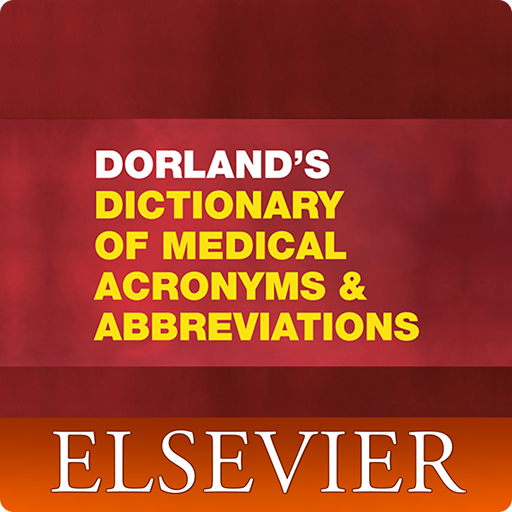 Dorland`s Medical Acronyms and Abbreviations Icon