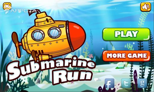 Submarine Run: Deep Ocean