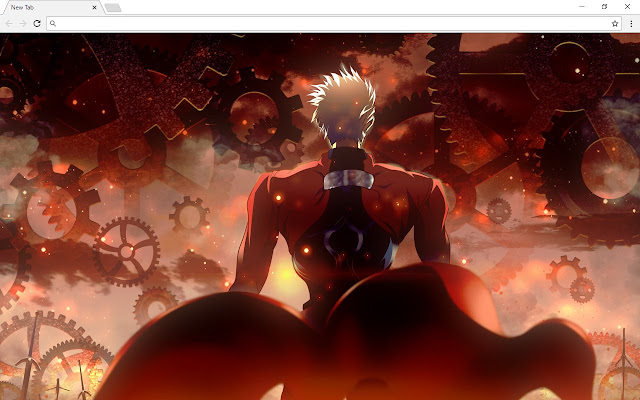 Fate Unlimited Blade Works Themes & New Tab