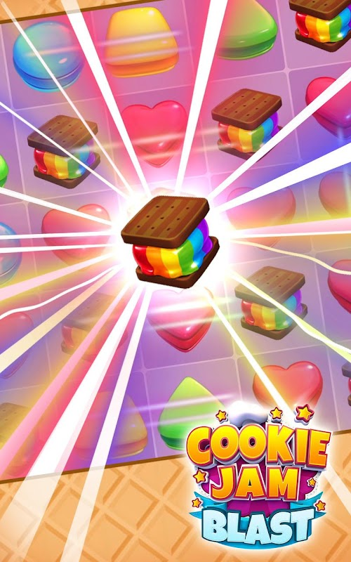 Screenshot 2 Cookie Jam Blast - Match & Crush Puzzle 3.90.126 APK MOD