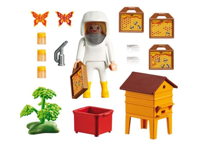 Contenido real de Playmobil® 6818 Apicultora
