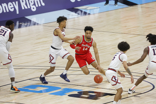 Men's Basketball: No. 9 Ohio State's comeback attempt falls short in overtime, drops title game to No. 3 Illinois
