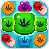 Weed Crush match 3 games & collapse ganja candy