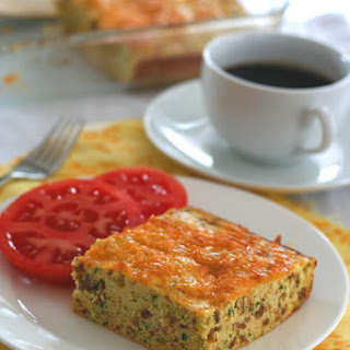 Zucchini Sausage Breakfast Bake (Low Carb, Gluten Free).