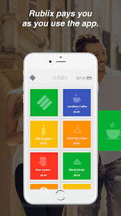 Rubiix - Earn cash when you spend. - náhled