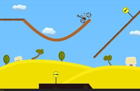 stickman mountain bike