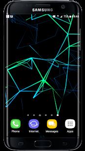 Neon Particle Plexus 3D Live Wallpaper - náhled