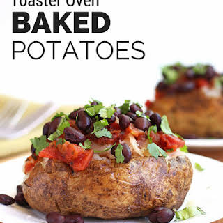 Toaster Oven Baked Potatoes.