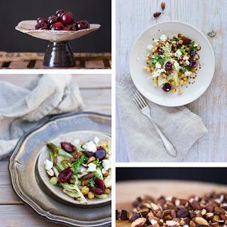 Chickpea & Cherry Salad