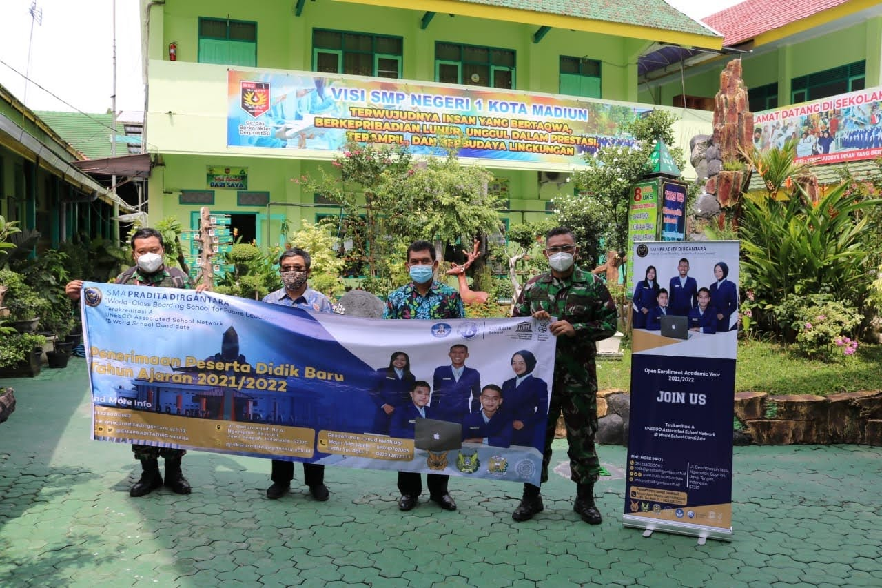 Lanud Iswahjudi Sosialisasi SMA Pradita Dirgantara