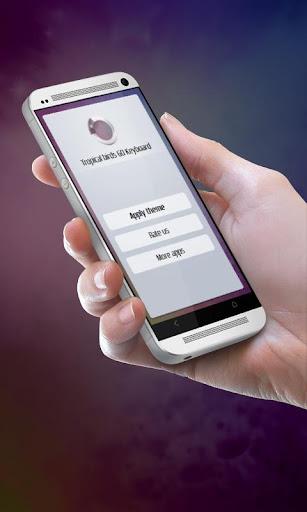無料个人化Appの熱帯の鳥 GO Keyboard 記事Game