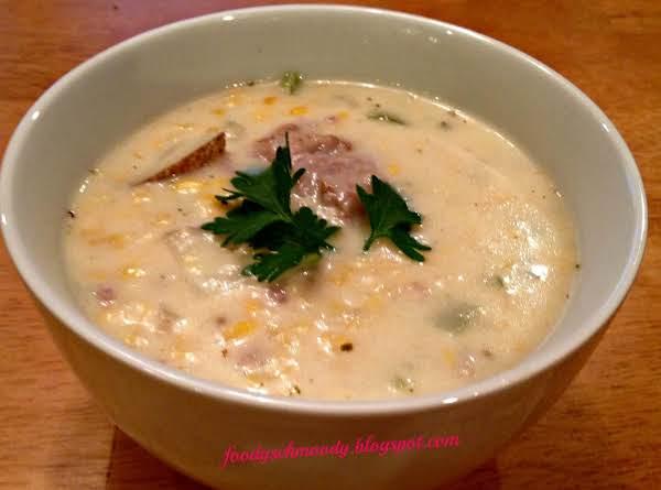Scrumptious Sausage & Corn Chowder Recipe