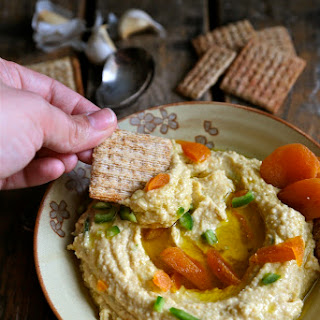 Jalapeno Apricot Lentil Hummus