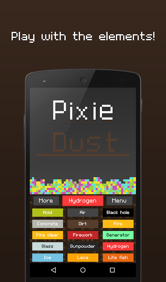 Pixie Dust - Sandbox- screenshot