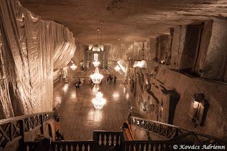 Photo: Wieliczka sóbánya - Szent Kinga kápolnája fentről