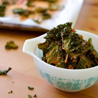 Baked Nacho Kale Chips Recipe