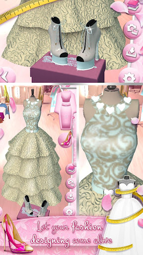 Wedding Dress Maker and Shoe Designer Games 4.2.0 screenshots 5