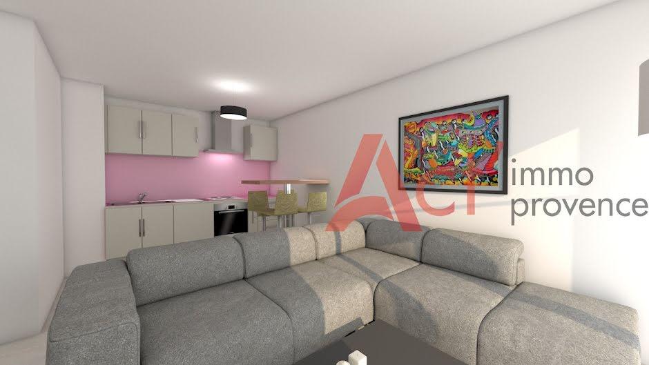 Vente appartement 2 pièces 40 m² à Draguignan (83300), 129 500 €