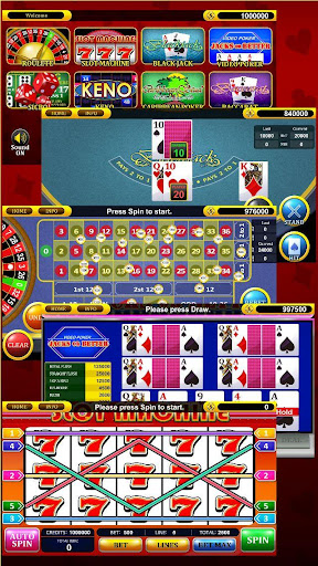 Roulette Slot Poker Keno Bingo