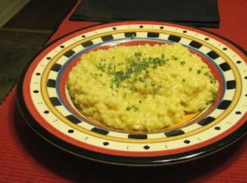 Cheddar Cheese Risotto Recipe